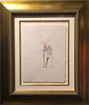"Apollinaire ""Couple Frontispiece"" (100/145)"