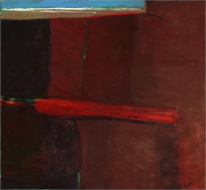 Earthscape with Sea, 1963-64