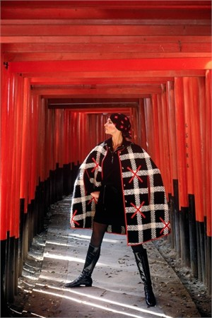 Japan: Torii Gates at the Fushimi Inari Shrine, Kyoto (Edition 11/100), 1969