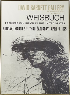 U.S. Premiere Exhibition Poster at the David Barnett Gallery (43/58), 1975