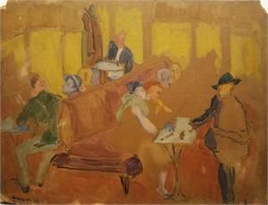 Paris Café, c. 1929