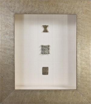 Three Ashanti Gold Weights (Flat Engraved), 19th c.