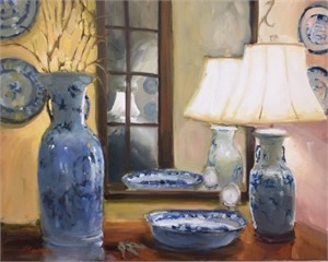 Collection of Blue & White, 2018