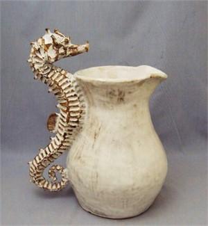 Seahorse Pitcher