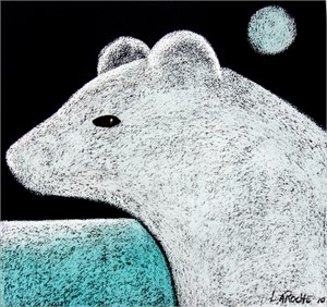 Young Polar Bear - SOLD available for commission