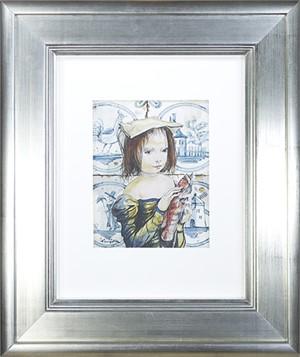 Enfant au Poison (Child with Fish), 2015