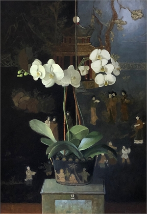 Orchid by Judith Pond Kudlow