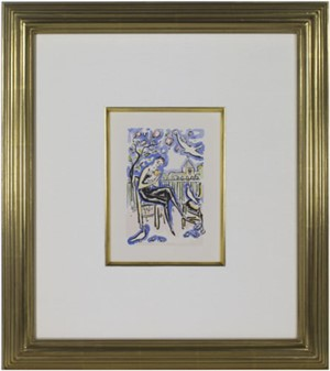 Mother & Child -La Garconne Series- Mere et Enfant, 1925