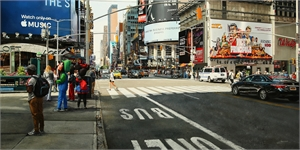 Times Square in the Afternoon