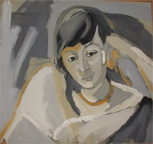 Portrait of a Woman, 1956