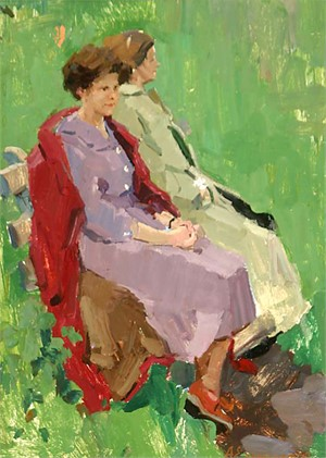 Aleksei Pavlovich Eremenko, Having a Rest, 1970