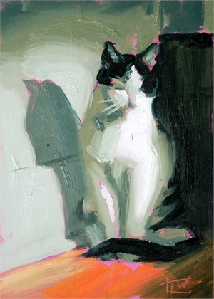 Zen Kitty (Study), 2018
