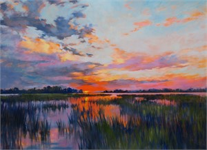 Sunrise on Marsh