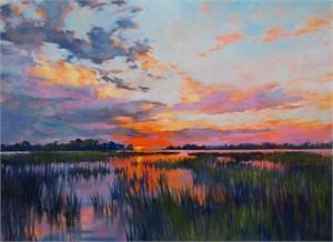Sunrise on Marsh