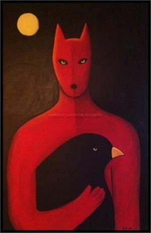 SOLD 'Raven Wolf'