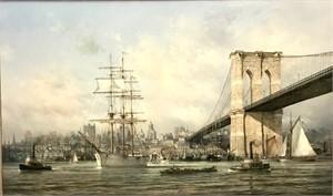 View to Manhattan 1898, 2018
