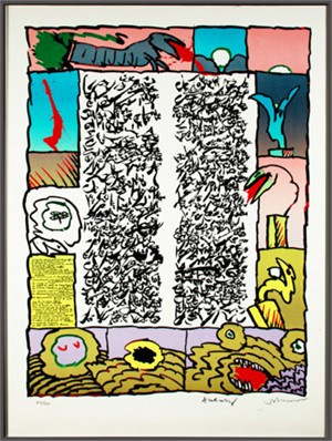Placard Dotremont (355/500), 1972