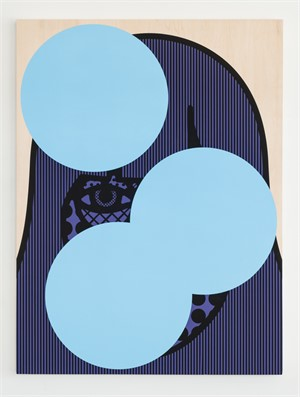 Cris (Blue & Purple), 2015