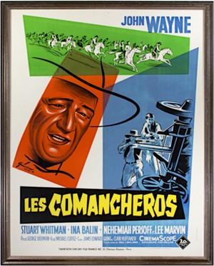 Les Comancheros (Common heroes John Wayne), 1961
