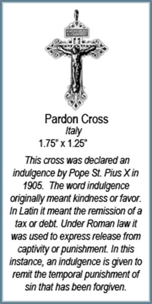 Pendant - Pardon Cross - 7564, 2019