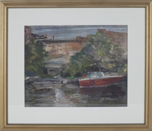 Milwaukee River, Third Ward, 1994
