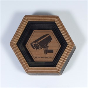 Hex Framed Temple Symbol 1