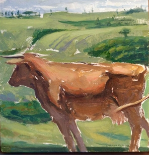 Tuscan Cow by Dean Fisher