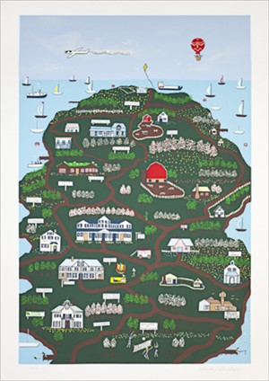 Door County Ed: 2/200, signed, 1984