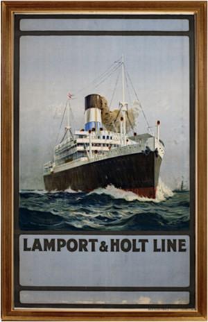 Lamport & Holt Line, c.1920