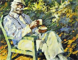 Sun, Summer, and a Cappuccino (AP), 2011