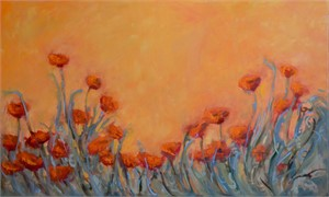 Italian Poppies Rising