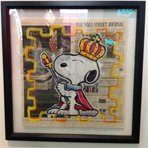 Wall Street Journal Series King Snoopy