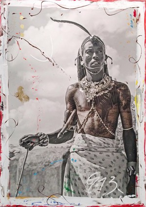 Samburu Warrior  (1/9), 2014