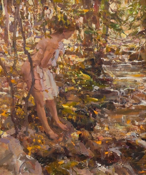 Figure by the Stream II by Quang Ho