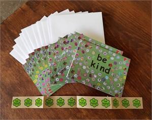 Notecard - be kind - blank inside