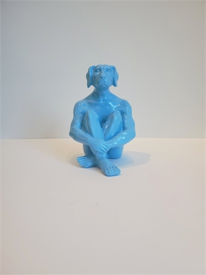 Mini Dogman (Blue), 2019