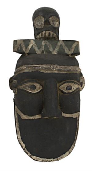 Ibibo Tribe- Past ancestral celebration mask Nigeria, c. 1920