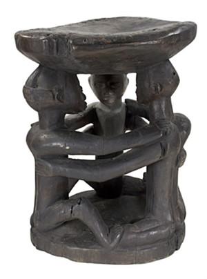Baluba Stool Zaire, c.1910