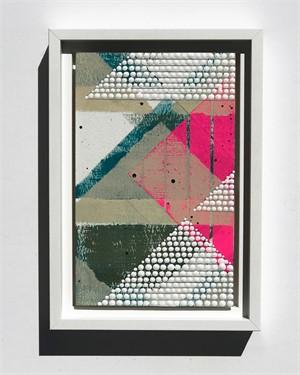 Triangle 1, Pink, Study No.78, 2018