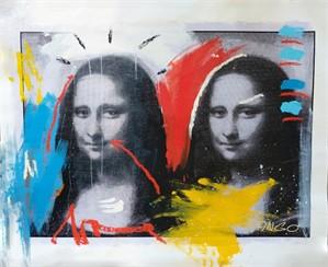 Double Mona Lisa Worksheet, 2018
