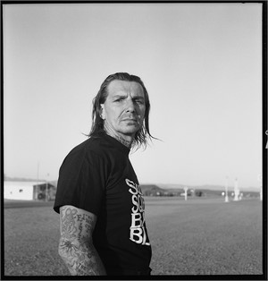 Personal Indian Larry Right Arm BW