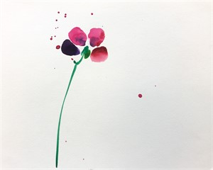 Floral Watercolor No. 11
