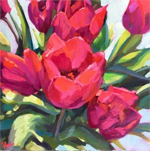 Tulips Tip Toe