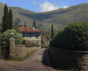 Morning in the Tuscan Hills Sold