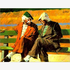 Telling Stories at the Bench, 1999