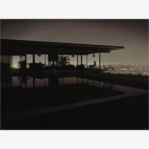 Stahl House at Night (S/N)