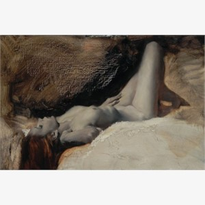 Reclining Nude in Three Colours 1