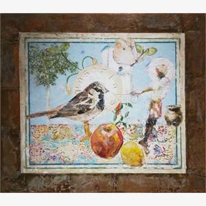Still Life for Bird Temple #7