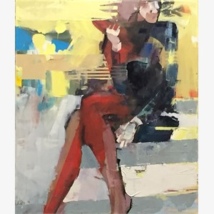 INTEGRATION: WOMAN SEATED