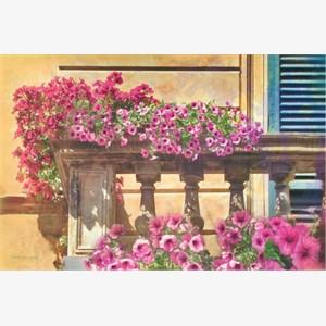 Veranda in Tuscany